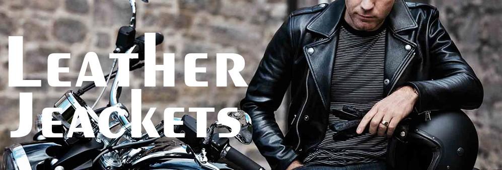 Leather Jackets Category Image 1