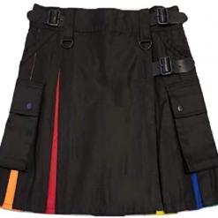 Women Rainbow Hybrid Kilt