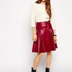 Women Leather Kilts